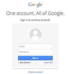 NewGoogleLogin